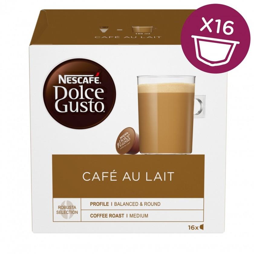 Kapsle, náplně Kapsle Nescafé Dolce Gusto Café Au Lait 16ks