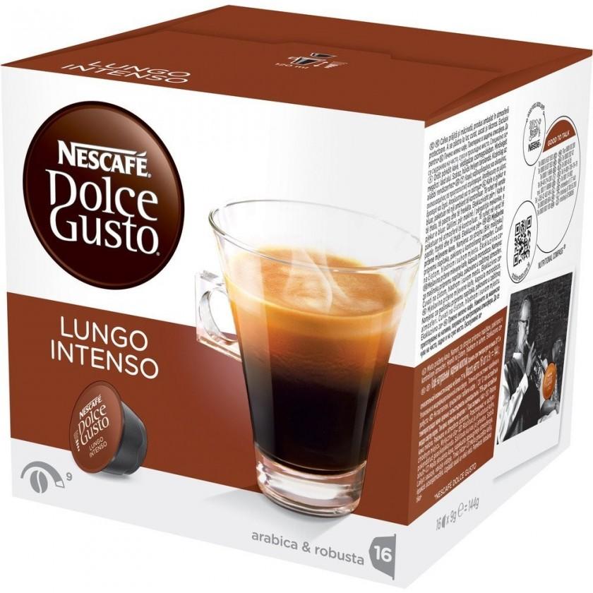 Kapsle, náplně Kapsle Nescafé Dolce Gusto Caffé Lungo Intenso 16ks