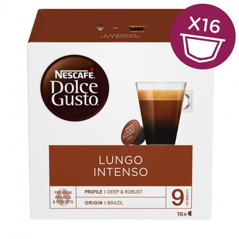 Kapsle, náplně Kapsle Nescafé Dolce Gusto Caffé Lungo Intenso, 16ks