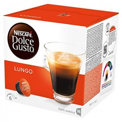 Kapsle, náplně Kapsle Nescafé Dolce Gusto Caffé Lungo Mild 16ks