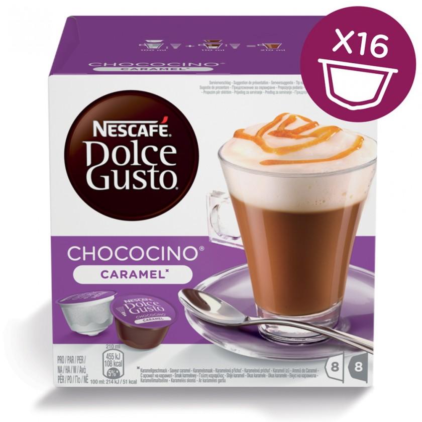 Kapsle, náplně Kapsle Nescafé Dolce Gusto Choco Caramel 16ks