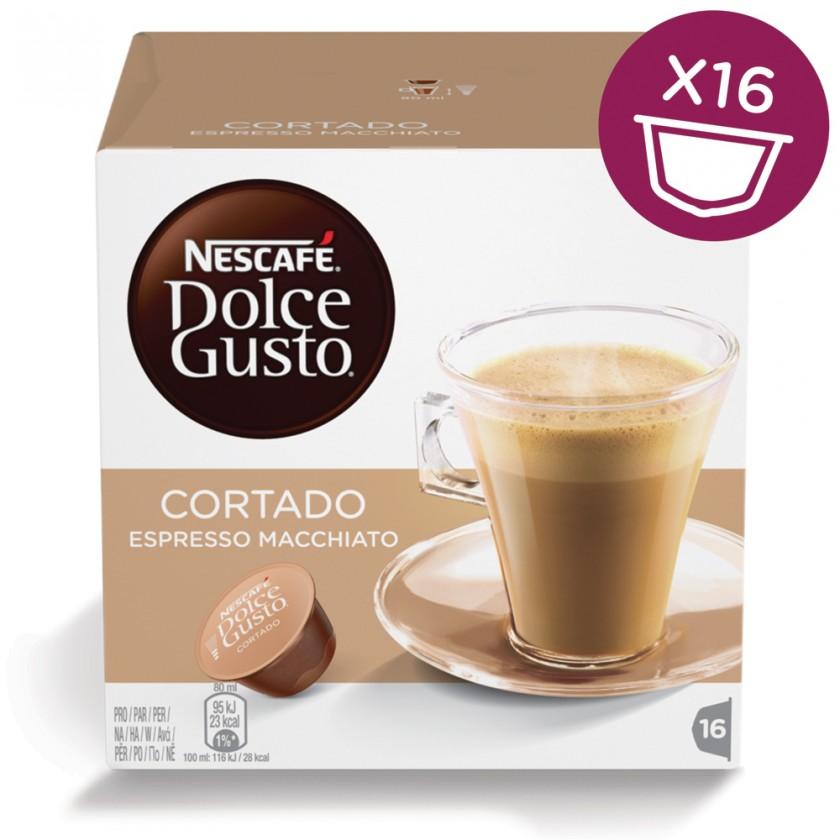 Kapsle, náplně Kapsle Nescafé Dolce Gusto Cortado 16ks