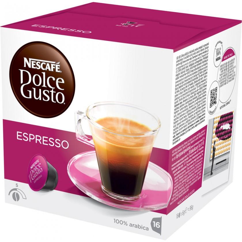 Kapsle, náplně Kapsle Nescafé Dolce Gusto Espresso 16ks