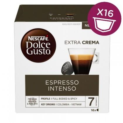 Kapsle, náplně Kapsle Nescafé Dolce Gusto Espresso Intenso, 16ks