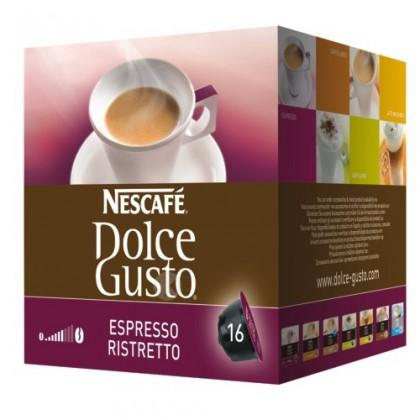 Kapsle, náplně Kapsle Nescafé Dolce Gusto Espresso Ristretto, 16ks
