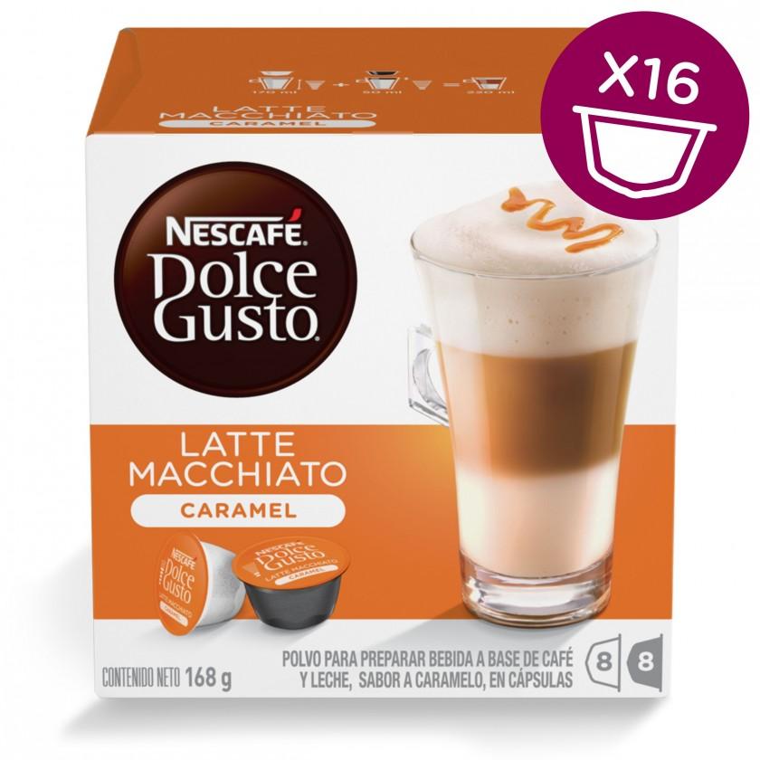 Kapsle, náplně Kapsle Nescafé Dolce Gusto Latte Macchiato Caramel 16ks