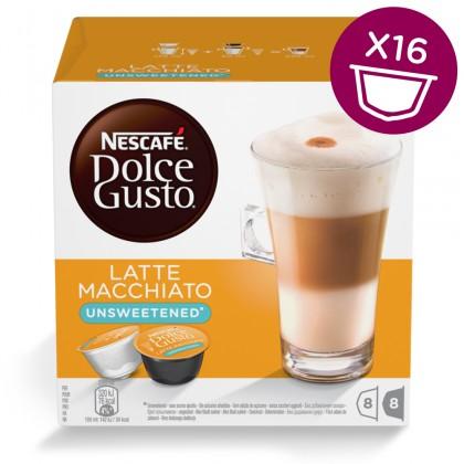 Kapsle, náplně Kapsle Nescafé Dolce Gusto Latté Macchiatto bez cukru 16ks