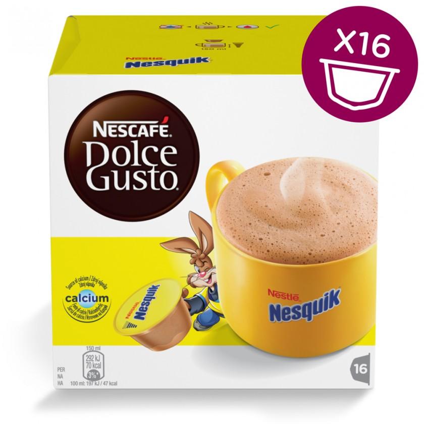 Kapsle, náplně Kapsle Nescafé Dolce Gusto Nesquik 16ks