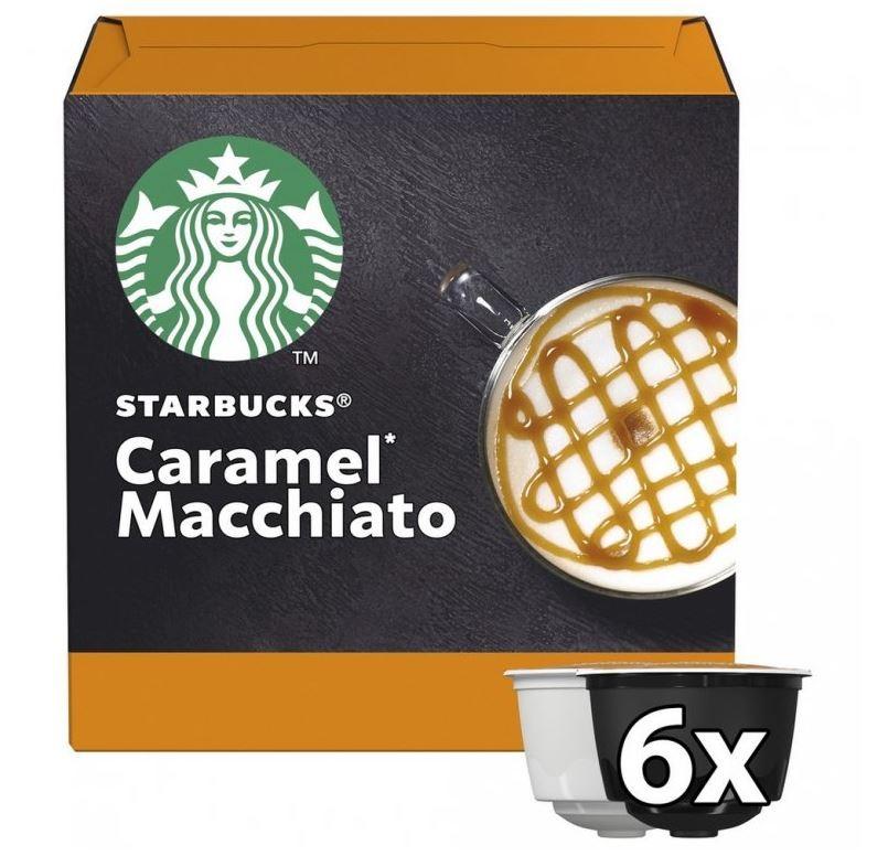Kapsle, náplně Kapsle Nescafé Starbucks Caramel Macchiato, 12ks