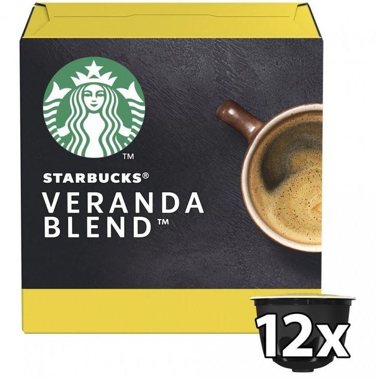 Kapsle, náplně Kapsle Nescafé Starbucks Verana Blend, 12ks