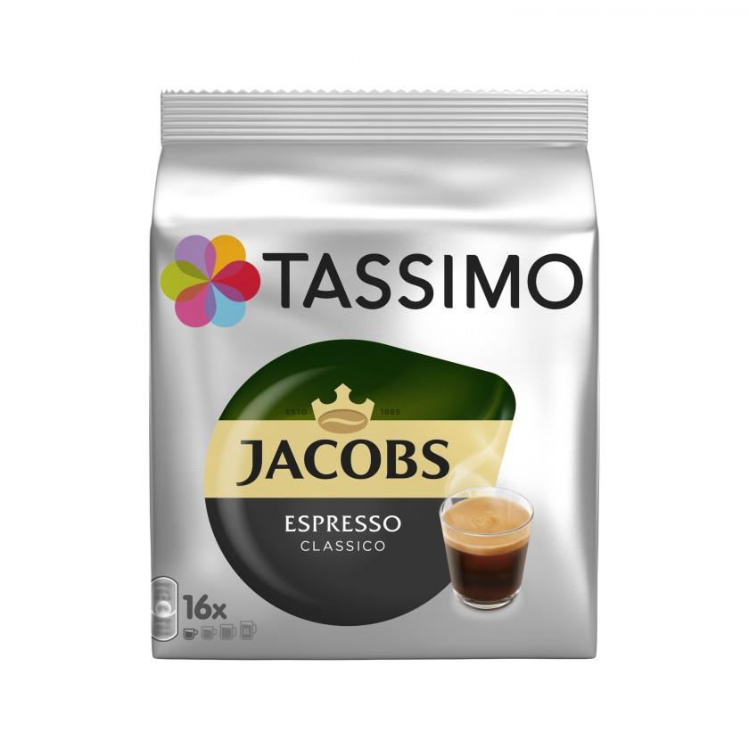 Kapsle, náplně Kapsle Tassimo Jacobs Espresso 16 ks