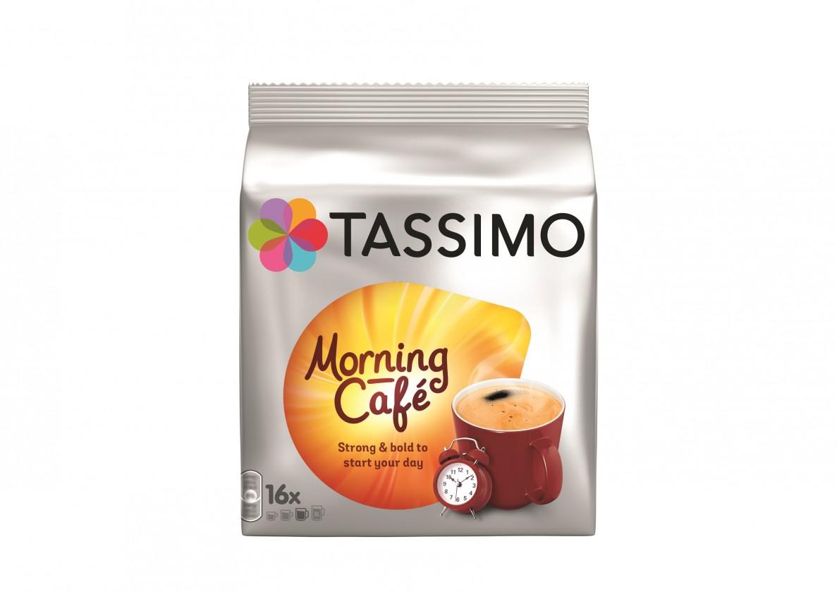 Kapsle, náplně Kapsle Tassimo Jacobs Morning Café 16 ks