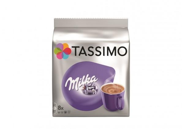 Kapsle, náplně Kapsle Tassimo Milka 8+8 ks