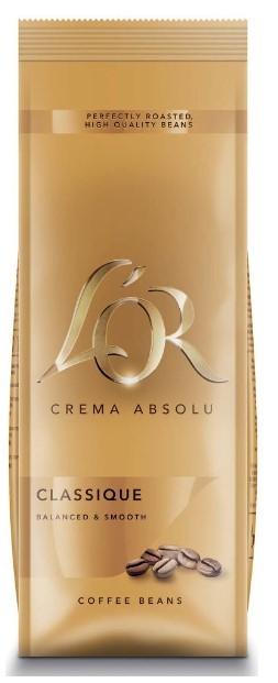 Kapsle, náplně Káva L'OR Crema Absolu Classique, 500g