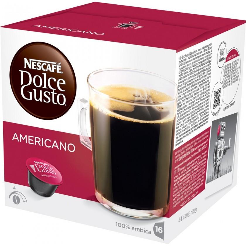 Kapsle, náplně Nescafé Dolce Gusto Americano 16ks