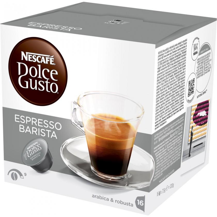 Kapsle, náplně Nescafé Dolce Gusto Barista 16ks