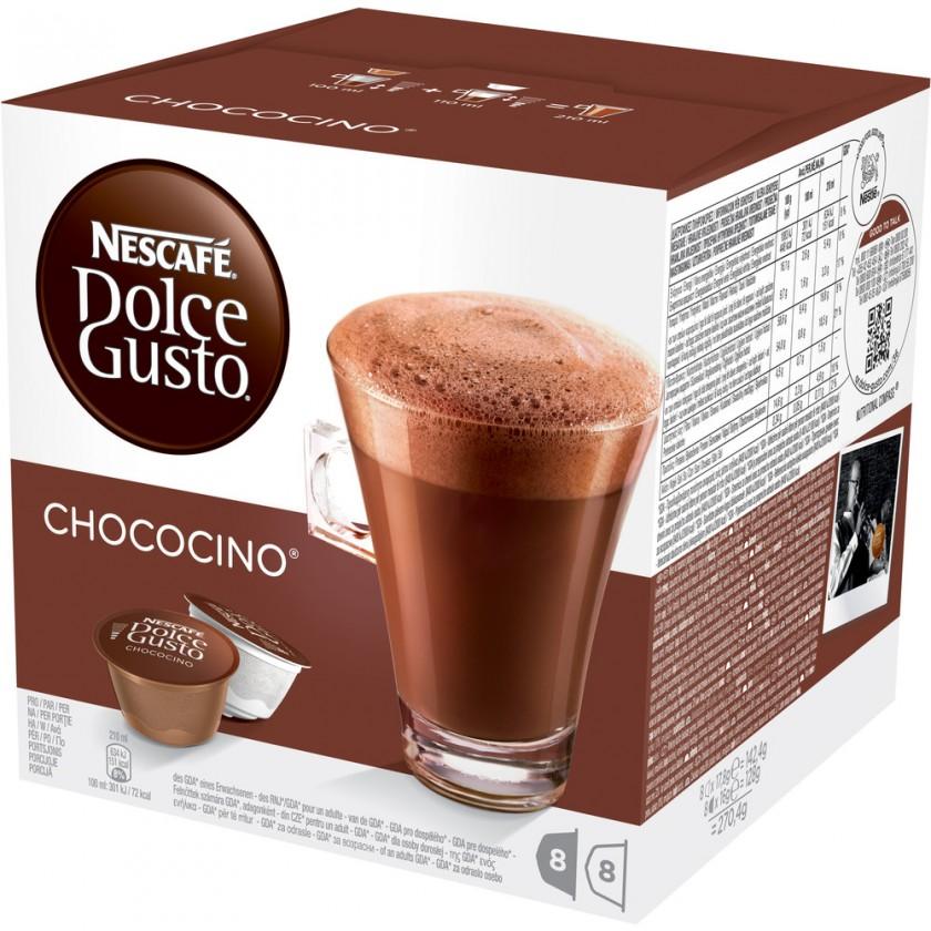 Kapsle, náplně Nescafé Dolce Gusto Chococino 16ks