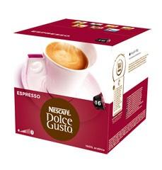 Kapsle, náplně Nescafé Dolce Gusto Espresso 16ks
