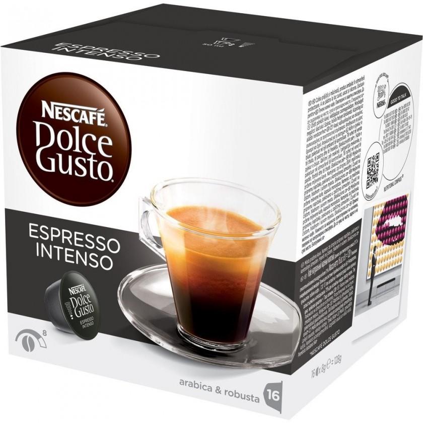 Kapsle, náplně Nescafé Dolce Gusto Espresso Intenso 16ks