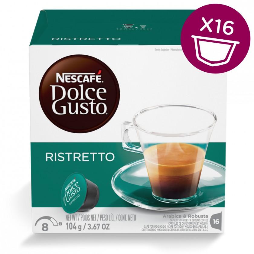 Kapsle, náplně Nescafé Dolce Gusto Espresso Ristretto 16ks