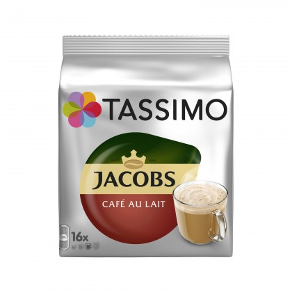Kapsle, náplně Tassimo Jacobs Cafe Au Lait 184g