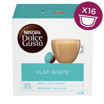 Kapsle Nescafé Dolce Gusto Flat White, 16ks