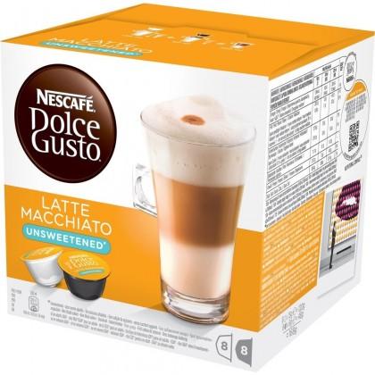 Kapsle Nescafé Dolce Gusto Latté Macchiatto bez cukru 16ks