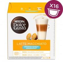 Kapsle Nescafé Dolce Gusto Latté Macchiatto bez cukru, 16ks