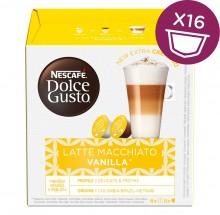 Kapsle Nescafé Dolce Gusto Latte Macchiatto Vanilla, 16ks