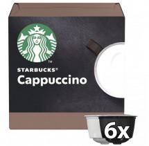 Kapsle Nescafé Starbucks Cappuccino, 12ks