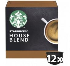 Kapsle Nescafé Starbucks Medium House Blend, 12ks