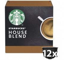 Kapsle Nescafé Starbucks Medium House Blend, 12ks
