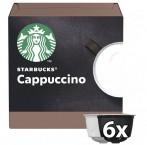 Kapsle STARBUCKS CAPPUCCINO Nescafé DGSTARBCAPPUC,12ks