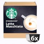 Kapsle STARBUCKS LATTE MACCHIATO Nescafé DGSTARBLATTEM,12ks
