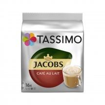 Kapsle Tassimo Jacobs Cafe Au Lait, 16ks