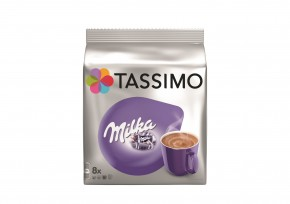 Kapsle TASSIMO Milka 8+8 ks, 240 g