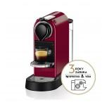 Kapslový kávovar KRUPS Citiz XN741510  červený
