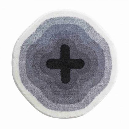 Karim 03 - Předložka kruh 60 cm (šedá)