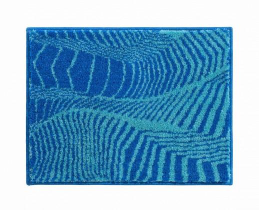 Karim 13 - Koupelnová předložka malá 65x50 cm (modrá)