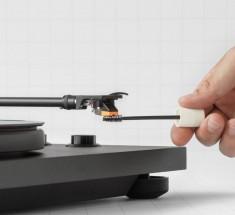 Kartáč na čištění gramofonové jehly