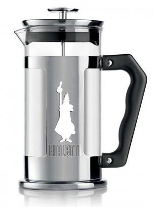 Kávovar Bialetti french press 0,35 l, nerez, panáček