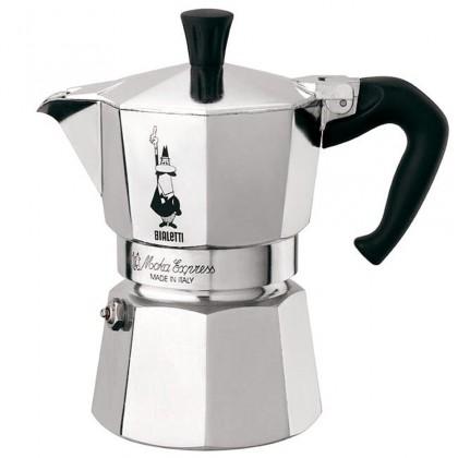 Kávovar Bialetti Moka Express 1, stříbrná