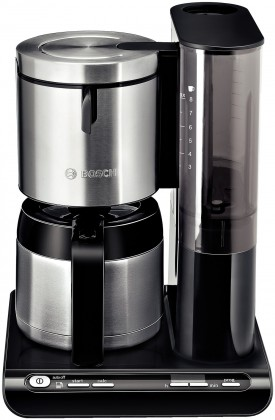 Kávovar Kávovar Bosch TKA 8653 Styline, nerez/černá