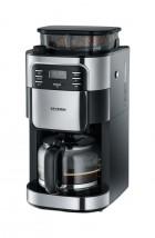 Kávovar Severin KA4810, nerez/černá, s kávomlýnkem