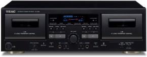 Kazetový radiomagnetofon TEAC W-1200, černý