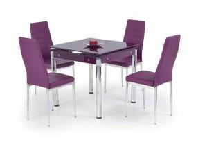 Kent - Jídelní stůl (fialová)