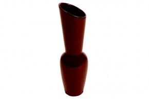 Keramická váza VK11 (hnědá, 26,5 cm)