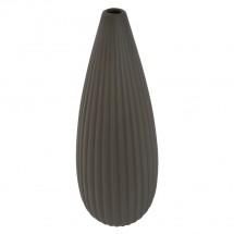 Keramická váza VK32 hnědá matná (36 cm)