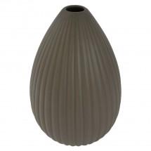 Keramická váza VK36 hnědá matná (25 cm)