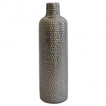 Keramická váza VK56 stříbrná (30 cm)